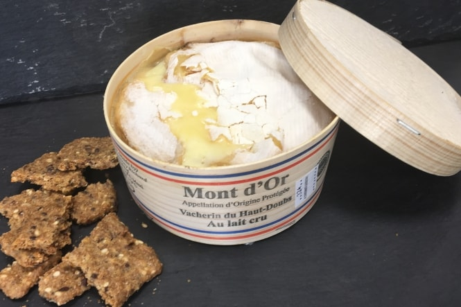 Ugens ost: Mont d'Or
