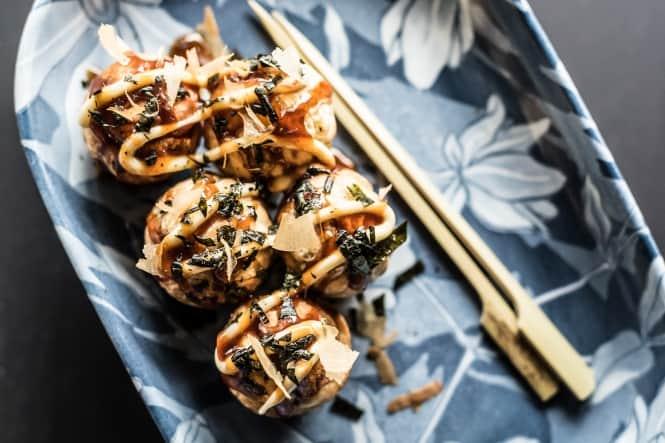 Takoyaki – blæksprutteæbleskiver