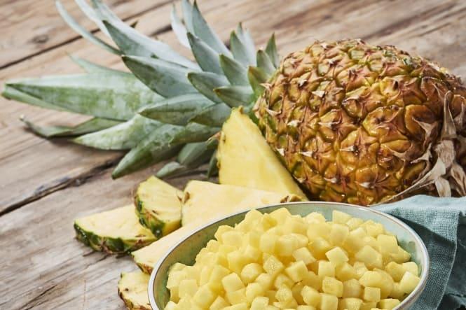 Produktnyhed: Øko ananas i tern