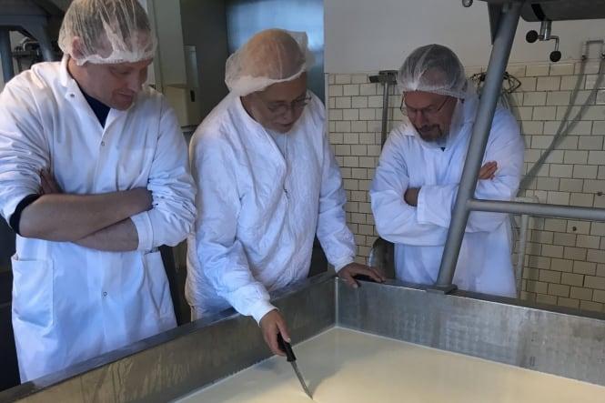 Vores første ost