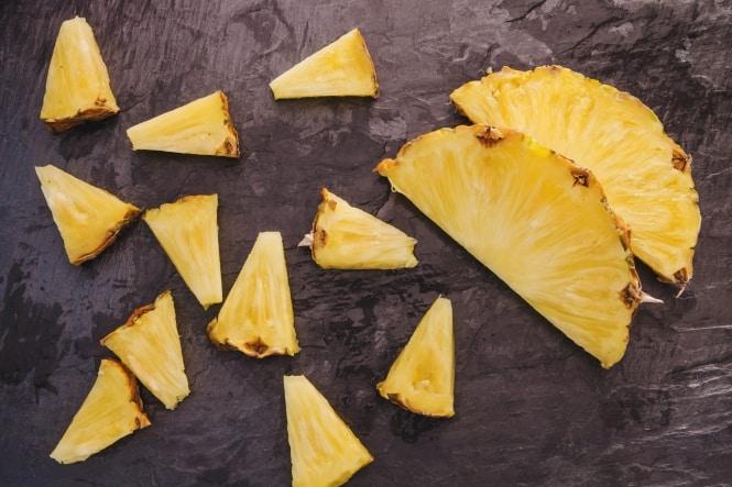 Ananas i pose fra Kokkens Catering