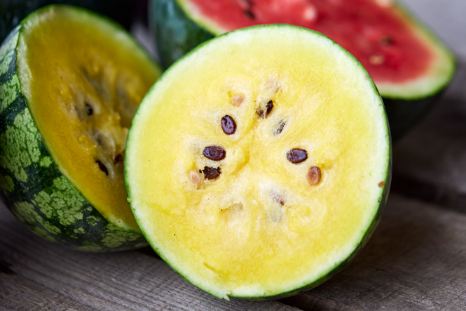Danske gule vandmeloner