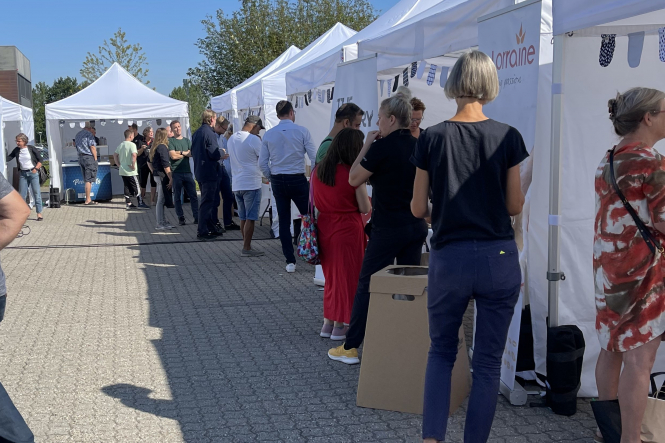 Rekordstort fremmøde: 100 gæster besøgte Torvedag