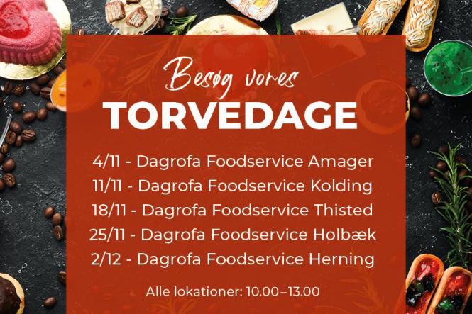 Kig forbi til Torvedag hos Dagrofa Foodservice